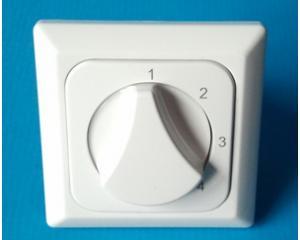 Vierstufenschalter für Wohnraumlüftungsgeräte