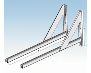 Wandkonsole,verstellbar- 100-500mm WKVL 15-  130mm