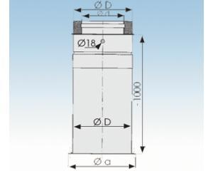 Bodenplatte,runde Sockelausführung-2250-BPKR- 113mm