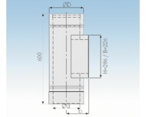 Prüföffnung Hochtemperatur PH-2250-PH- 113mm