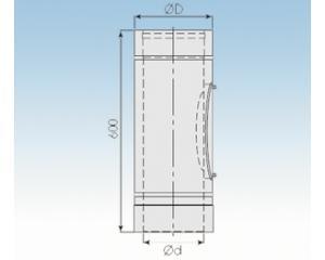 Prüföffnung Niedertemperatur PN-2250-PN-113mm