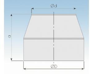 Mündungsabschluß konisch-2250-M-113mm