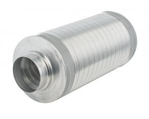 Telefonieschalldämpfer DS=50 L=1000 DN 400