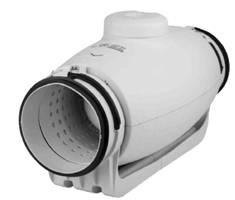 Schallgedämmter Rohrventilator TD-800/200 SILENT